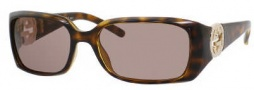 Gucci 3504/S Sunglasses Sunglasses - 0791 Havana (04 Brown Lens)