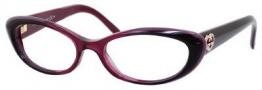 Gucci 3515 Eyeglasses Eyeglasses - 0W0L Cherry Bordeaux