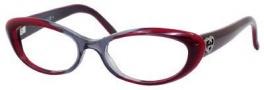 Gucci 3515 Eyeglasses Eyeglasses - 0WVR Gray Bordeaux