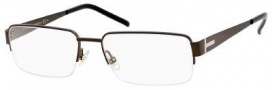 Gucci 2209 Eyeglasses Eyeglasses - 0P0F Dark Brown