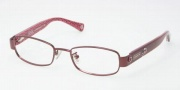 Coach HC5006 Summer Eyeglasses Eyeglasses - 9041 Burgundy