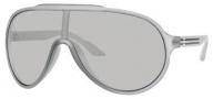 Gucci 1004/S Sunglasses Sunglasses - 0WRK Gray Semi Matte (L5 Mirror Silver Lens)