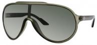 Gucci 1004/S Sunglasses Sunglasses - 0WRN Palladium Green (U5 Green Gray ss Lens)