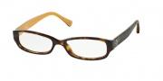 Coach HC6001 Eyeglasses Emily Eyeglasses - 5055 Dark Tortoise