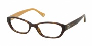 Coach HC6002 Eyeglasses Cecilia  Eyeglasses - 5055 Dark Tortoise