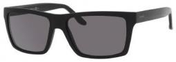 Gucci 1013/S Sunglasses Sunglasses - 052R Matte Black (3H Smoke Polarized Lens)