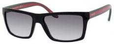 Gucci 1013/S Sunglasses Sunglasses - 051N Shiny Black (PT Gray Gradient Lens)