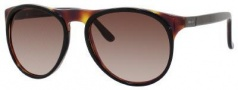 Gucci 1014/S Sunglasses Sunglasses - 0BG4 Black Dark Tortoise (J6 Brown Gradient Lens)