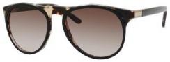 Gucci 1014/S Sunglasses Sunglasses - 04ZM Black Havana (HA Brown Gradient Lens)