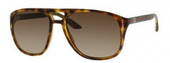 Gucci 1018/S Sunglasses  Sunglasses - 0791 Havana (CC Brown Gradient Lens)