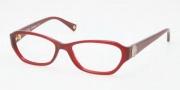 Coach HC6009 Eyeglasses Violet Eyeglasses - 5029 Burgundy
