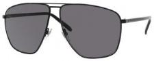 Gucci 2213/S Sunglasses Sunglasses - 0M7A Semi Matte Black (3H Smoke Polarized Lens)
