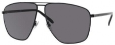 Gucci 2213/S Sunglasses Sunglasses - 0WRU Shiny Black (ED Brown Gradient Lens)