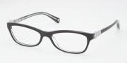Coach HC6014 Eyeglasses Elise Eyeglasses - 5048 Black Crystal