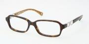 Coach HC6018 Eyeglasses Virginia Eyeglasses - 5033 Dark Tortoise