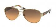 Coach HC7003 Sunglasses Kristina  Sunglasses - 901295 Gold Orange / Orange Gray Gradient