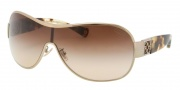 Coach HC7005B Sunglasses Reagan  Sunglasses - 901813 Gold Spotted Tortoise / Brown Gradient