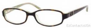 Nine West 443 Eyeglasses Eyeglasses - OER2 Dark Tortoise Green