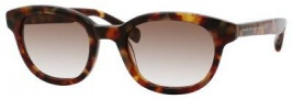Marc by Marc Jacobs MMJ 279/S Sunglasses Sunglasses - 01JJ Havana Vintage (HA Brown Gradient Lens)