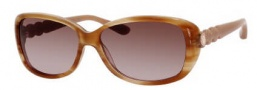 Marc by Marc Jacobs MMJ 321/S Sunglasses Sunglasses - 0NDB Honey (CC Brown Gradient Lens)