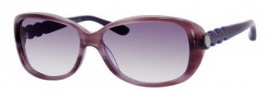 Marc by Marc Jacobs MMJ 321/S Sunglasses Sunglasses - 0NDA Purple (9C Dark Gray Gradient Lens)