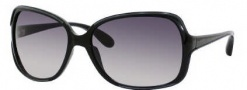 Marc by Marc Jacobs MMJ 266/S Sunglasses Sunglasses - 01V2 Black Transparent Gray (EU Gray Gradient Lens)