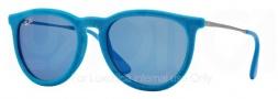 Ray-Ban RB4171 Erika Sunglasses Sunglasses - 60795S Azure Velvet / Blue Mirror