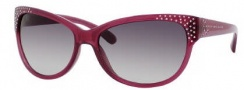 Marc by Marc Jacobs MMJ 272/S Sunglasses Sunglasses - 01XX Transparent Violet (9C Dark Gray Gradient Lens)