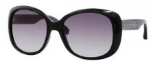 Marc by Marc Jacobs MMJ 273/S Sunglasses Sunglasses - 01UB Black Gray Hearts (EU Gray Gradient Lens)