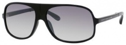 Marc by Marc Jacobs MMJ 275/S Sunglasses Sunglasses - 0D28 Shiny Black (IC Gray Mirror Gradient Silver Lens)
