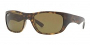 Ray-Ban RB4177 Sunglasses Sunglasses - 622 Black Rubber / Crystal Green