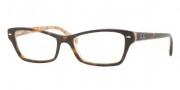 Ray Ban RX5256 Eyeglasses Eyeglasses - 5057 Top Dark Havana on Bei