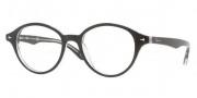 Ray Ban RX5257 Eyeglasses Eyeglasses - 2034 Top Black on Transparent