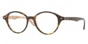 Ray Ban RX5257 Eyeglasses Eyeglasses - 5057 Top Dark Havana on Bei