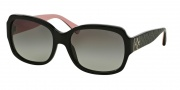 Coach HC8001 Sunglasses Emma Sunglasses - 505311 Black / Grey Gradient
