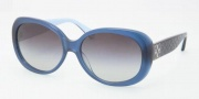 Coach HC8002 Sunglasses Victoria  Sunglasses - 505611 Blue / Gray Gradient