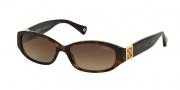 Coach HC8012 Sunglasses Hope Sunglasses - 500113 Tortoise / Brown Gradient