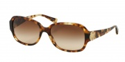Coach HC8015 Sunglasses Allie Sunglasses - 504513 Spotty Tortoise / Brown Gradient