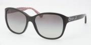 Coach HC8017 Sunglasses Kendall Sunglasses - 500211 Black / Gray Gradient