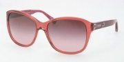 Coach HC8017 Sunglasses Kendall Sunglasses - 50328H Burgundy / Burgundy Gradient
