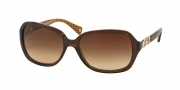 Coach HC8019 Sunglasses Beatrice Sunglasses - 503513 Brown/Brown Gradient
