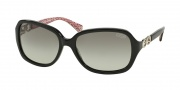Coach HC8019 Sunglasses Beatrice Sunglasses - 503411 Black / Grey Gradient
