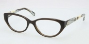Tory Burch TY2021 Eyeglasses Eyeglasses - 1078 Olive Horn