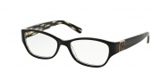 Tory Burch TY2022 Eyeglasses Eyeglasses - 910 Tribal (black)