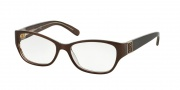 Tory Burch TY2022 Eyeglasses Eyeglasses - 933 Brown Clear (brown)