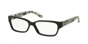Tory Burch TY2025 Eyeglasses Eyeglasses - 3155 Black/Black White Marble