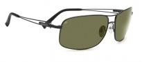 Serengeti Sassari Sunglasses Sunglasses - 7664 Satin Black / 555NM Polarized