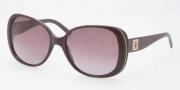 Tory Burch TY7036 Sunglasses Sunglasses - 10428H Plum Green Navy / Plum Gradient