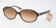 Tory Burch TY7039 Sunglasses Sunglasses - 104313 Tortoise Orange / Brown Gradient