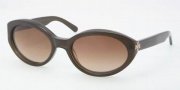 Tory Burch TY7042 Sunglasses Sunglasses - 105013 Olive Horn / Smoke Gradient